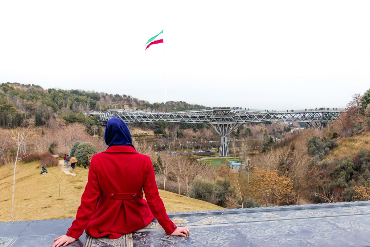 things to do in tehran - tabiat bridge