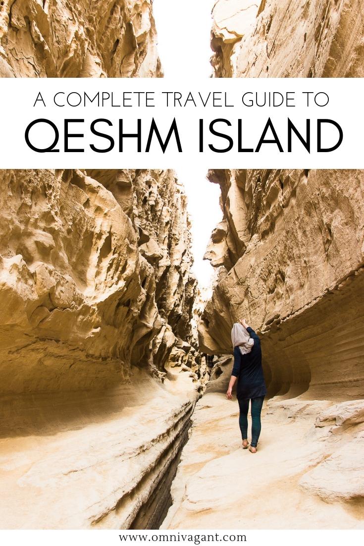 qeshm island travel guide pin