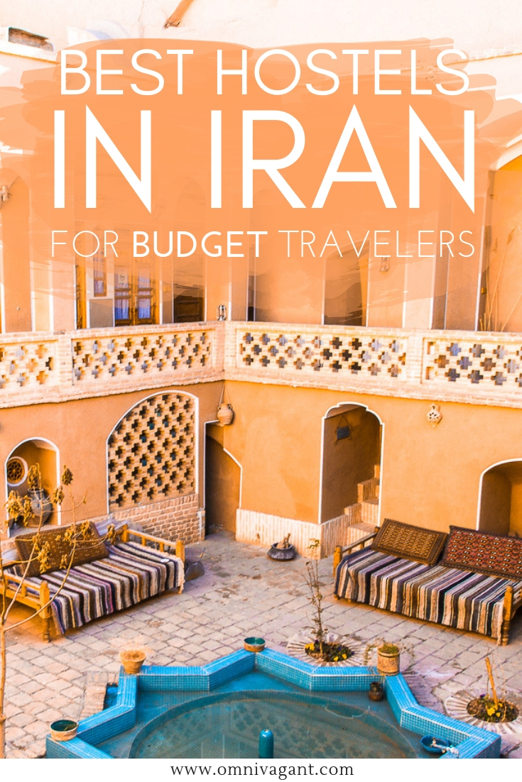 accommodation in iran - the best hostels for budget travelers #iran