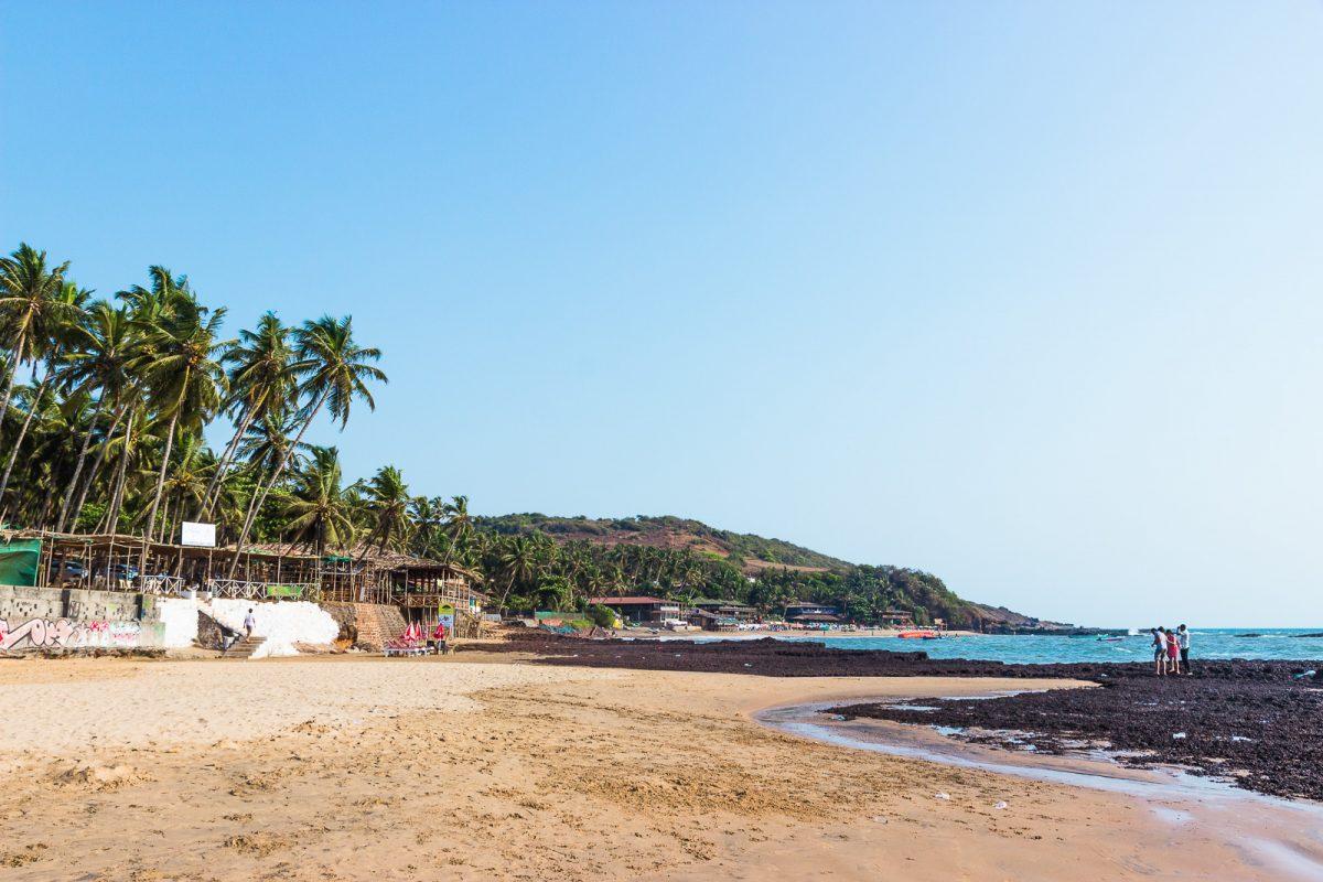 Anjuna Beach - The Best Beach in Goa for Backpackers