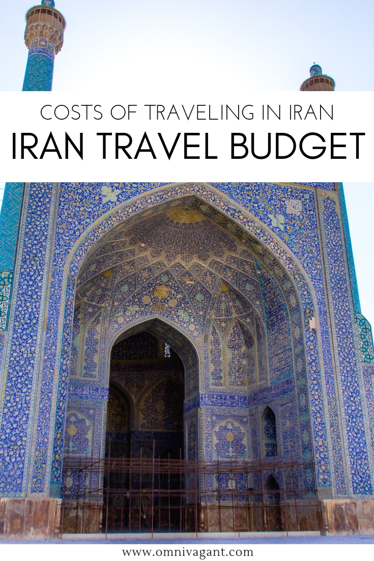 Iran Travel Budget - How much does it cost to backpack Iran?