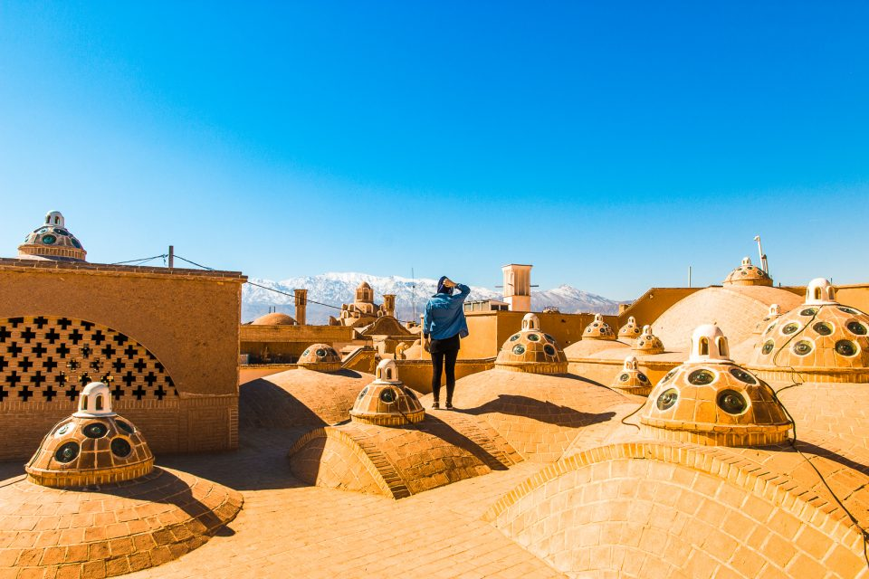 View from the Sultan Amir Ahmad Bathhouse in Kashan - Things to do in Kashan