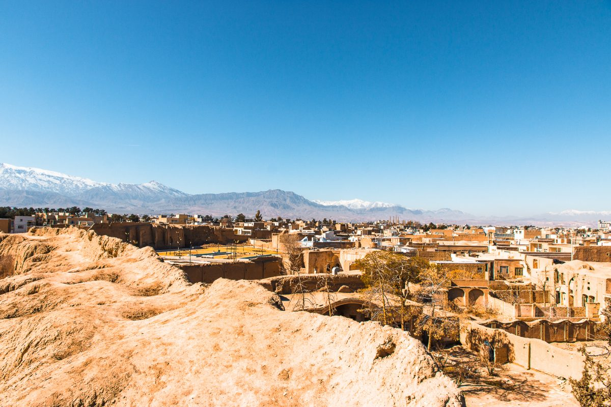View over the city of Kashan - things to do in Kashan