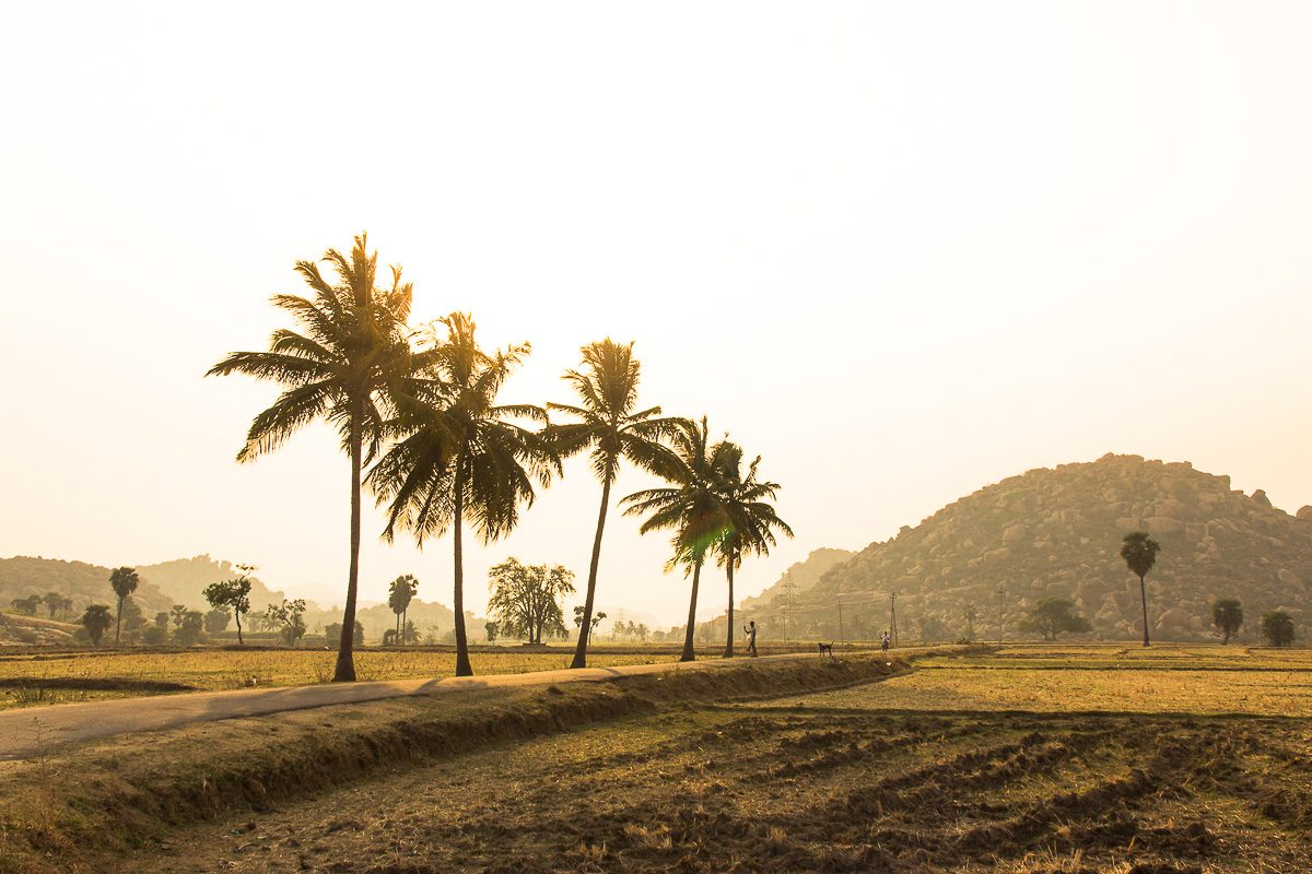 Things to do in Hampi: Sun rise in the surroundings of Hampi