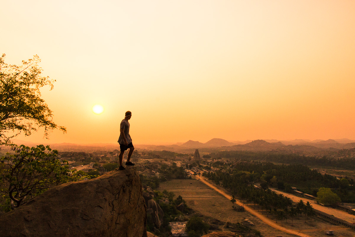 Things to do in Hampi: View from Mathanga Hill over Hampi