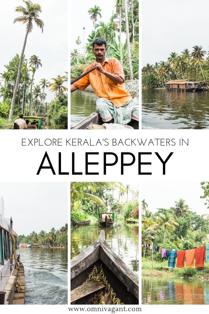Alleppey Boat Tour through the Backwaters of Kerala #India #Kerala