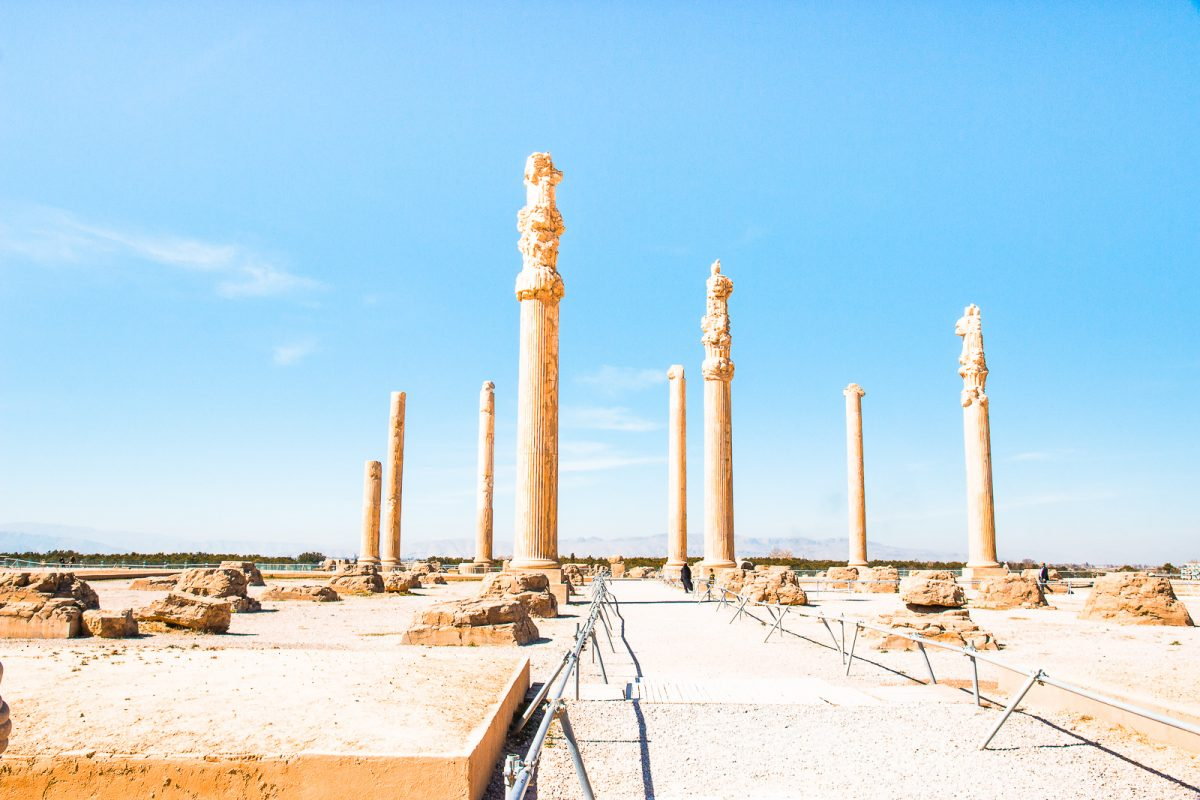 View of Persepolis in Iran - Iran Travel Guide