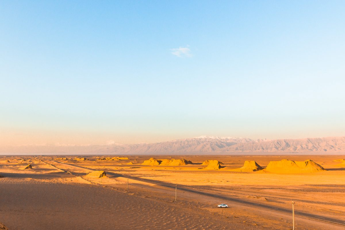 View from Kalut in the Lut Desert - Iran Travel Guide