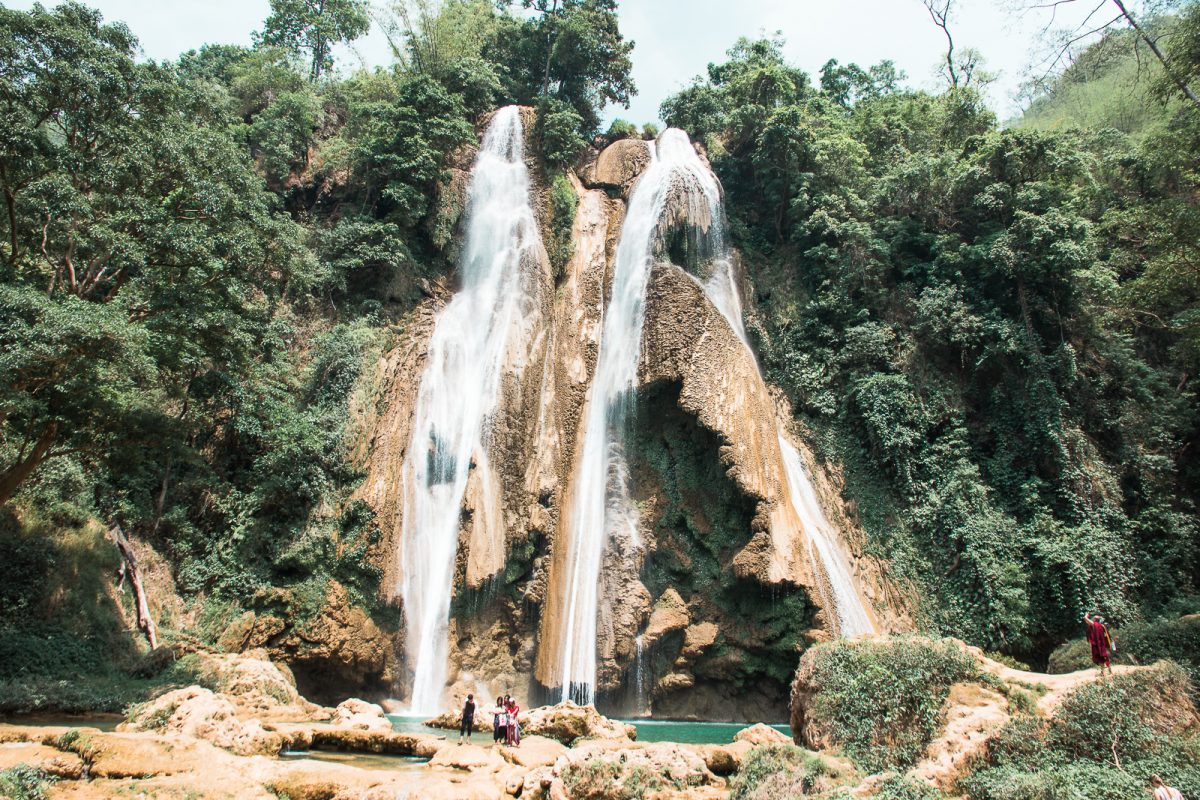 Myanmar Travel Guide - Anisakan Falls