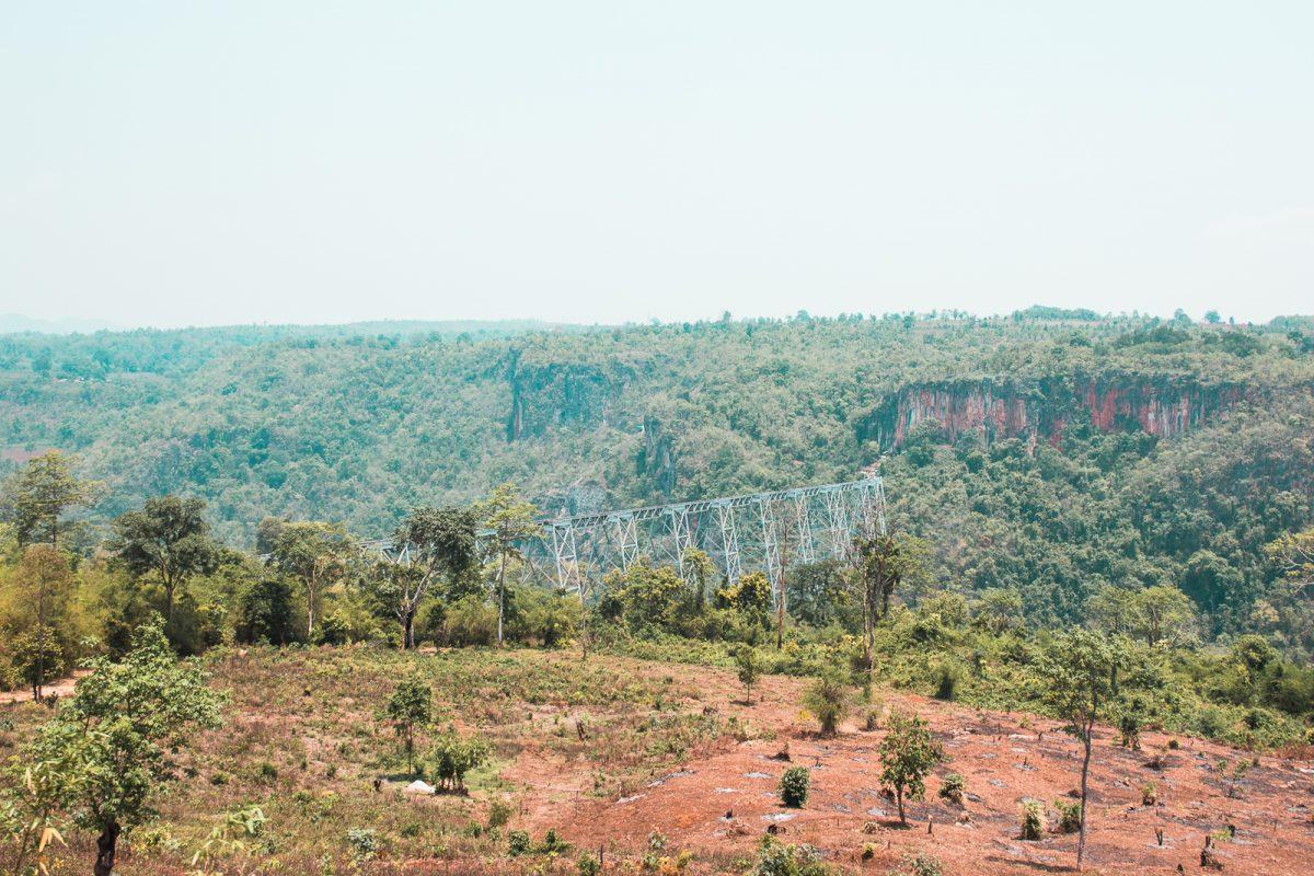 Goteik Viaduct - Myanmar's most scenic train ride