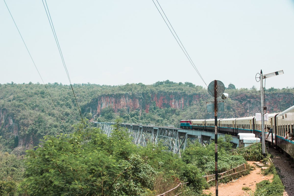 Goteik Viaduct - Myanmar's most scenic train ride
