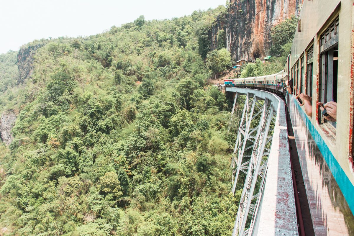 The Ultimate Myanmar Itinerary - 3 Weeks in Myanmar: Train to Hsipaw Goteik Viaduct