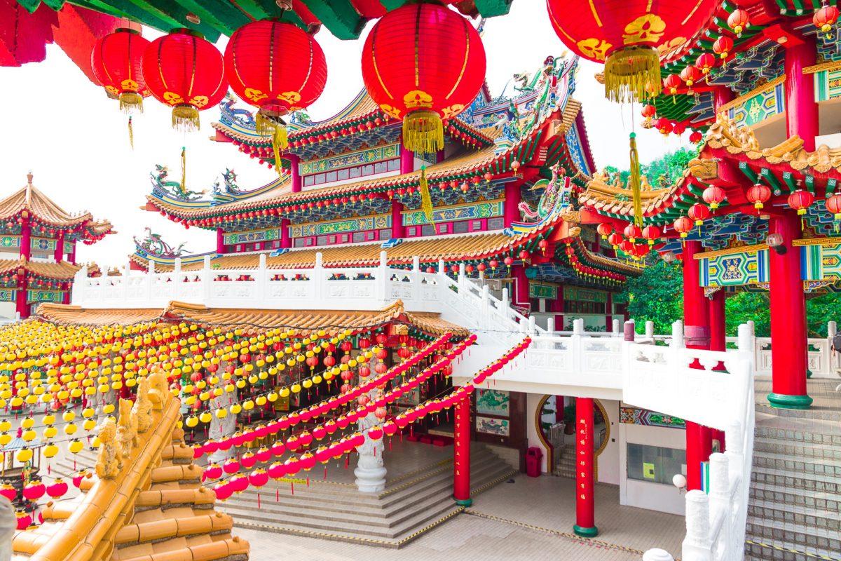 southeast asia bucket list: thean hou temple kuala lumpur