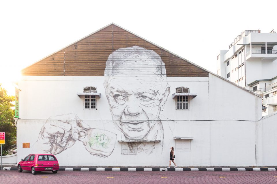 Street Art in Ipoh – Malaysia