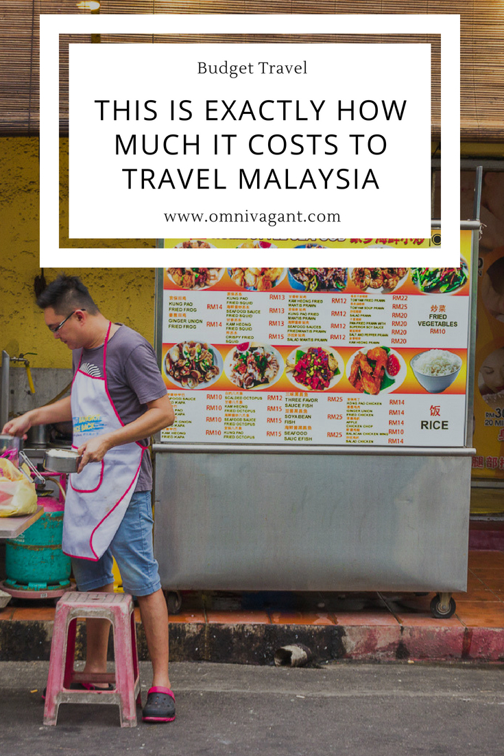 this is exactly how much it costs to travel malaysia