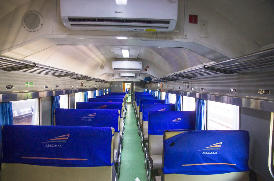 train travel in java indonesia