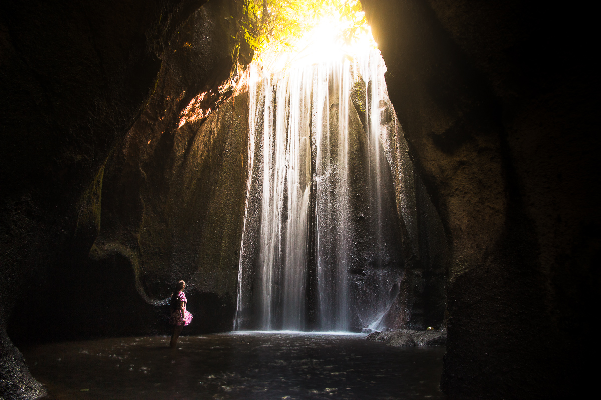 Light Rays at the Tukad Cepung Waterfall - One of the Things To Do in Ubud