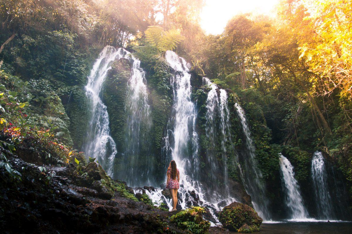 bali waterfalls guide banyu wana amertha waterfall bali omnivagant