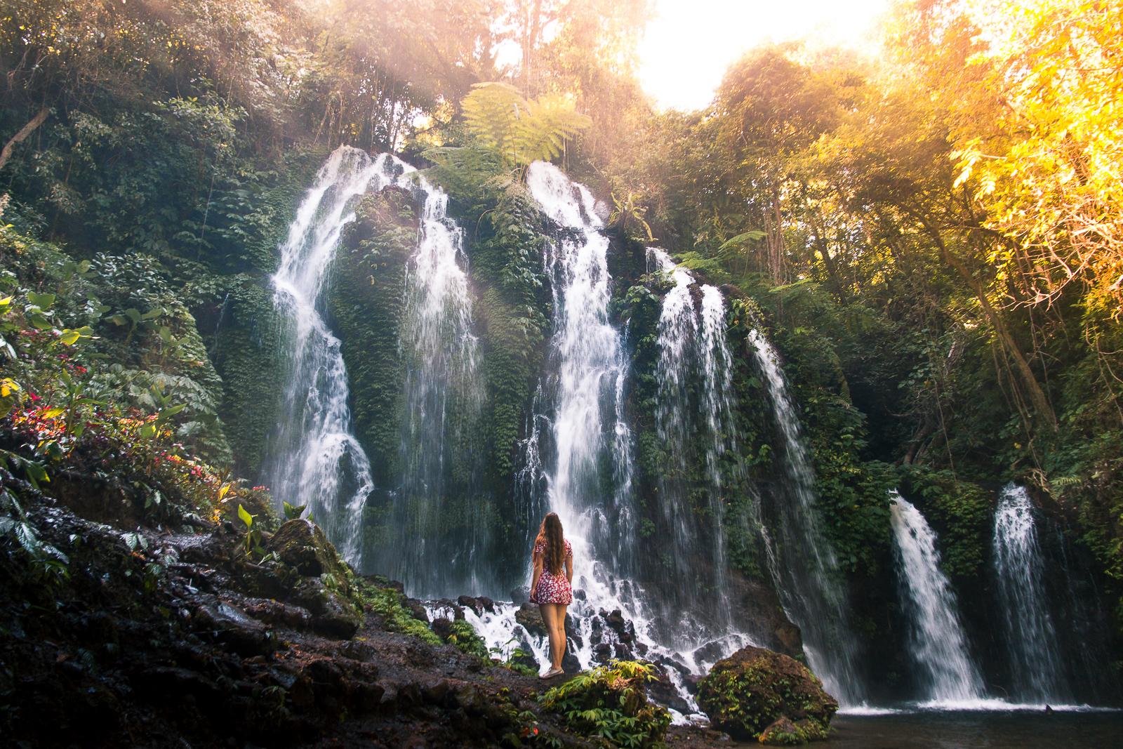 The Banyu Wana Amertha Waterfall Bali S Best Kept Secret
