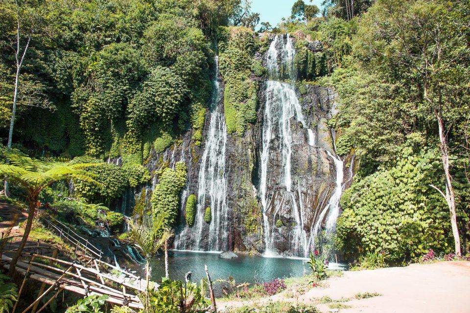 banyumala twin waterfalls bali