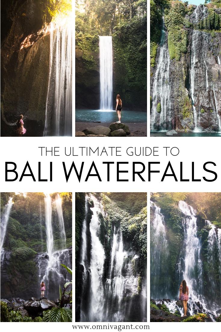 bali waterfalls guide pin pinterest omnivagant