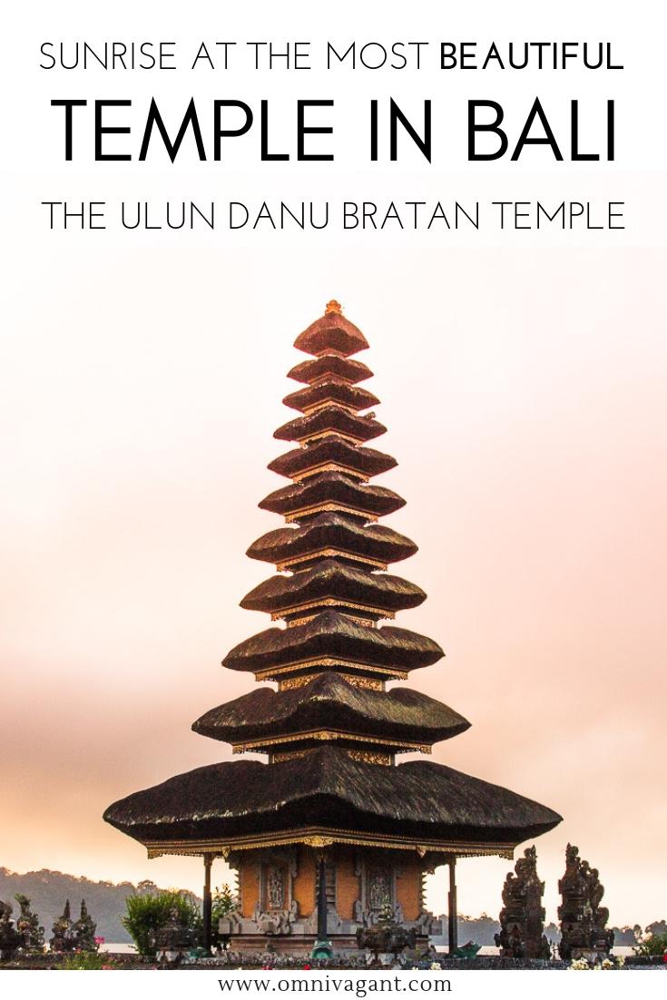 pura ulun danu bratan bali most beautiful temple