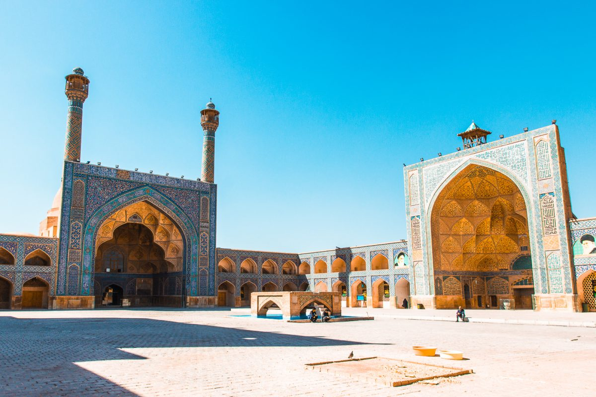 iran bucket list: visit the jameh mosque in isfahan
