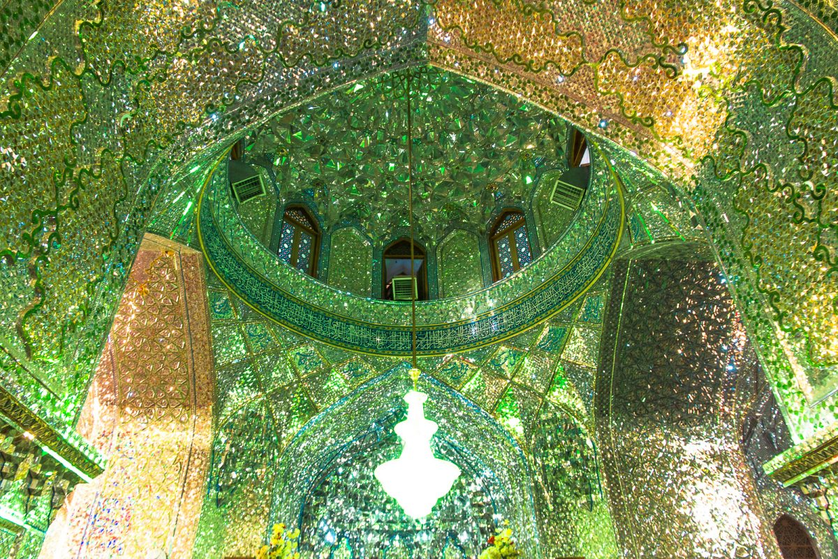 Things to do in Shiraz: Ali Ibn Hamzeh Holy Shrine #Shiraz #Iran