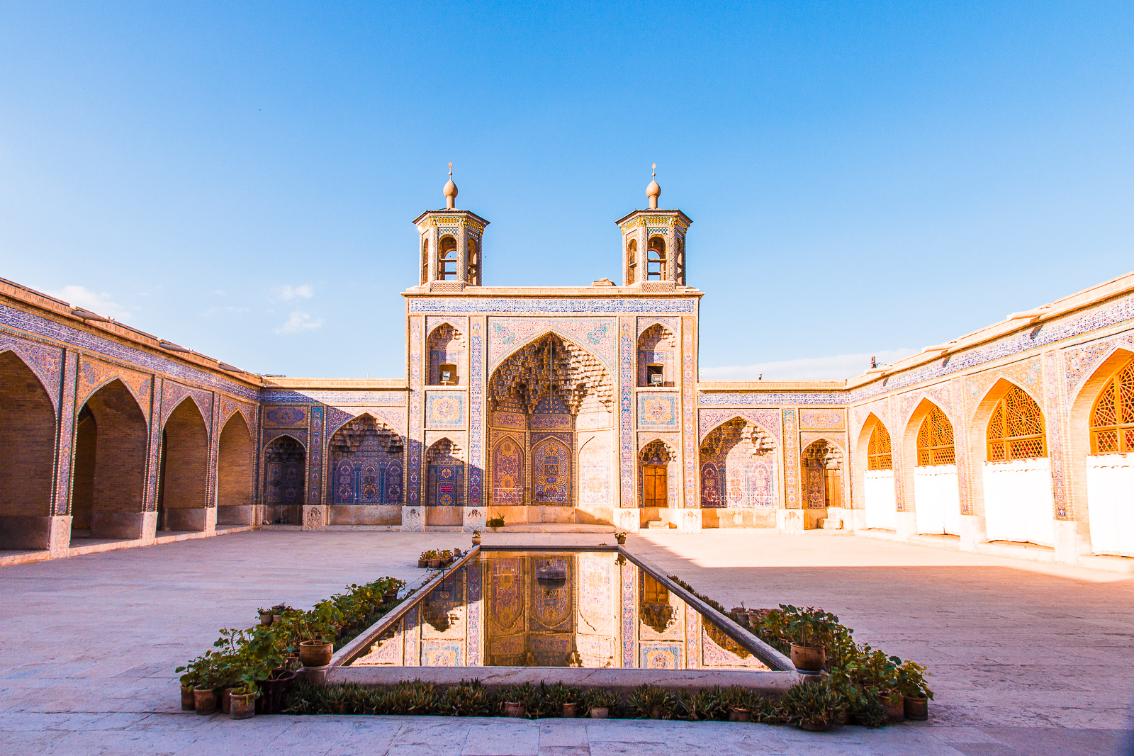 Visit the Nasir Al-Mulk Mosque in Shiraz - Iran's Most Colorful Mosque