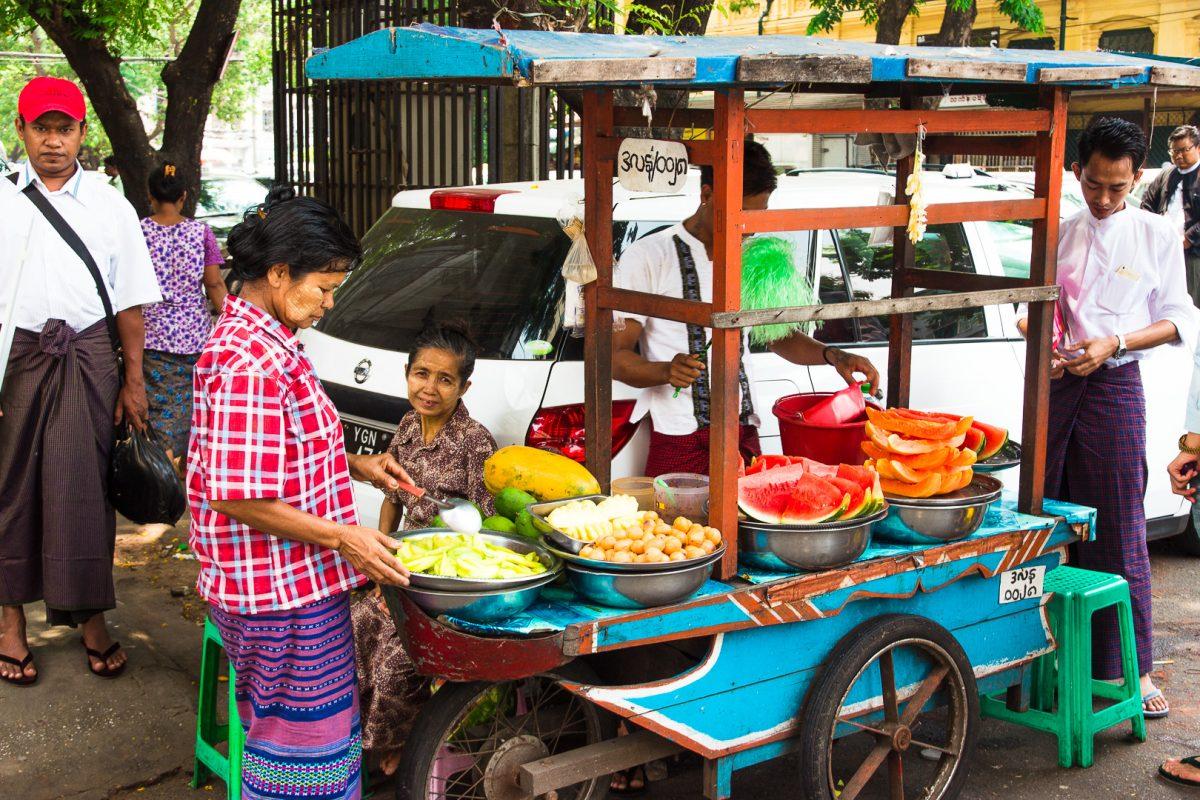 Things to do in Yangon - Street Food