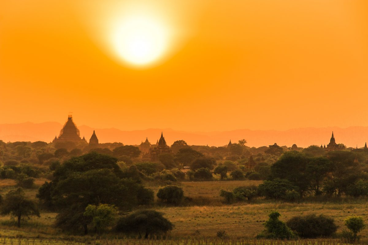 The Ultimate Myanmar Itinerary - 3 Weeks in Myanmar: Bagan Temple Fields Sunrise