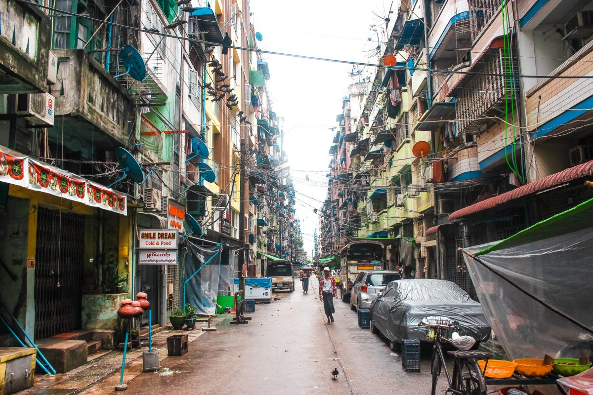 Things to do in Yangon - China Town