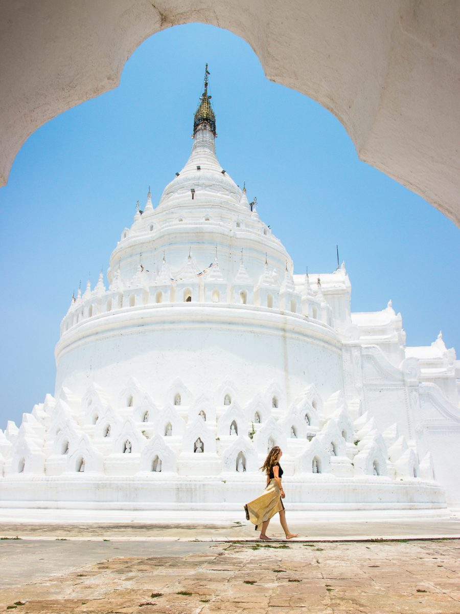 Myanmar Travel Guide - Hsinbyume Pagoda near Mandalay