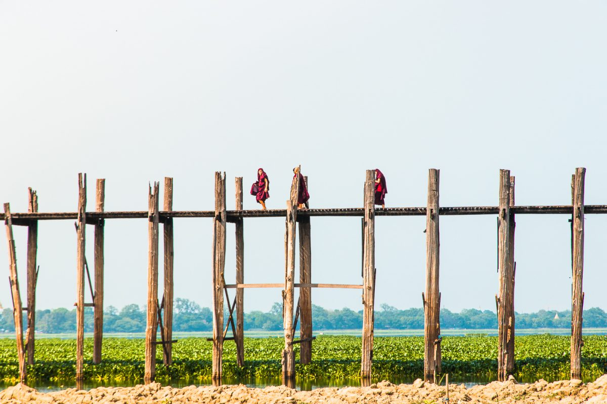 The Ultimate Myanmar Itinerary - 3 Weeks in Myanmar: U Bein Bridge Mandalay