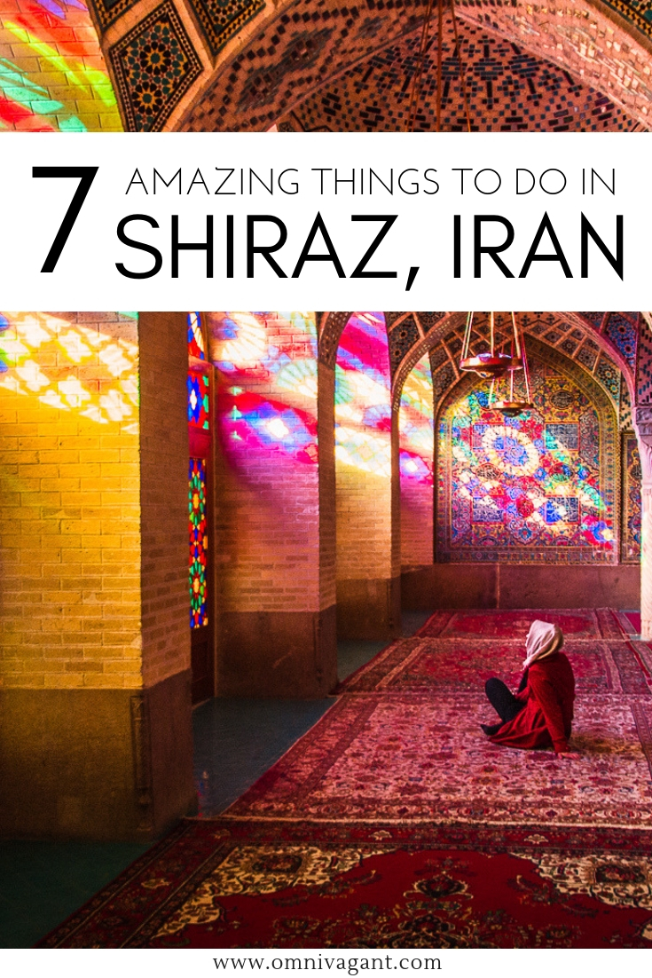 Things to do in Shiraz, Iran #Shiraz #Iran