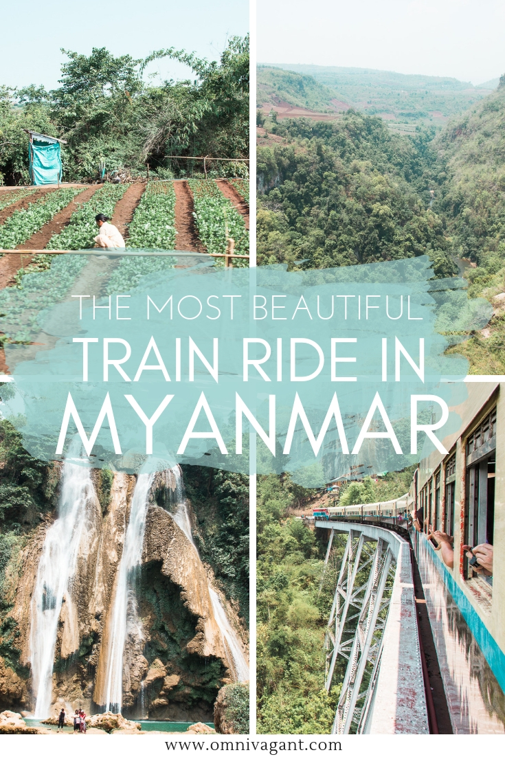 Goteik Viaduct - The most beautiful and scenic train ride in Myanmar! #Myanmar