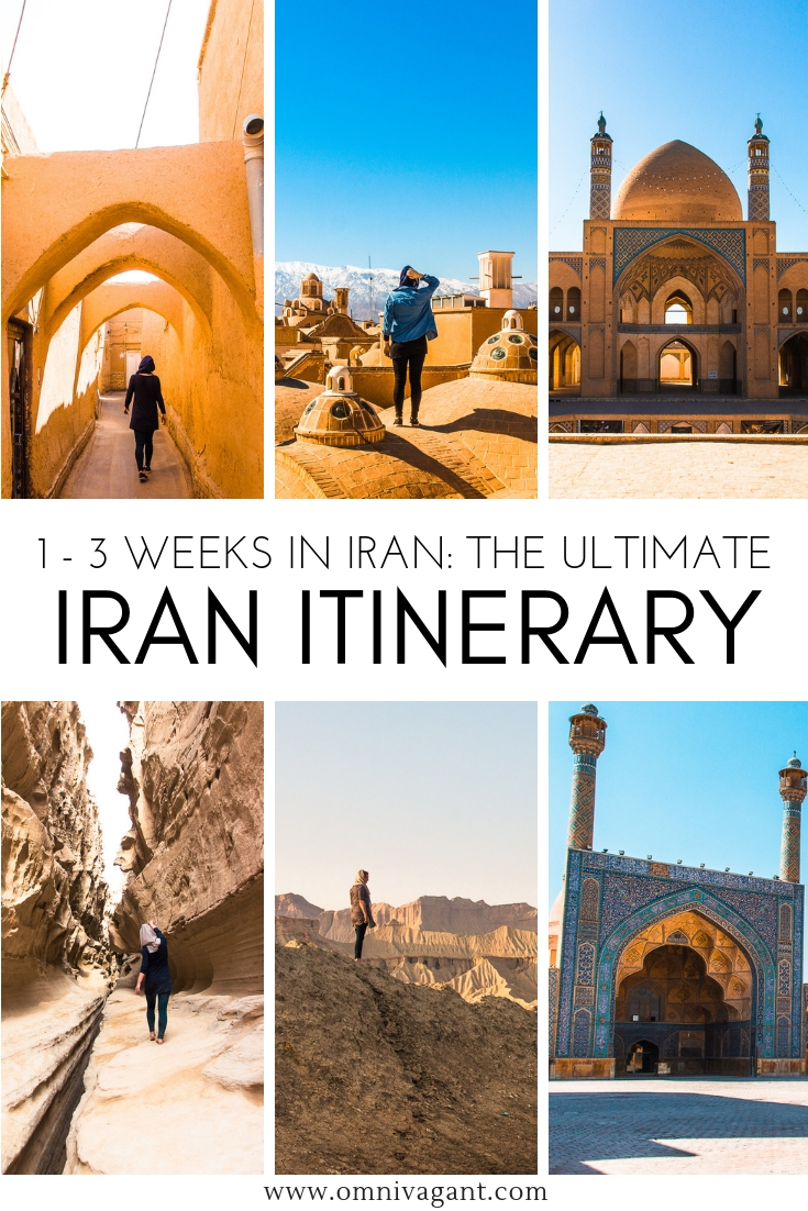 Iran itinerary: 1 - 3 weeks in Iran #Iran