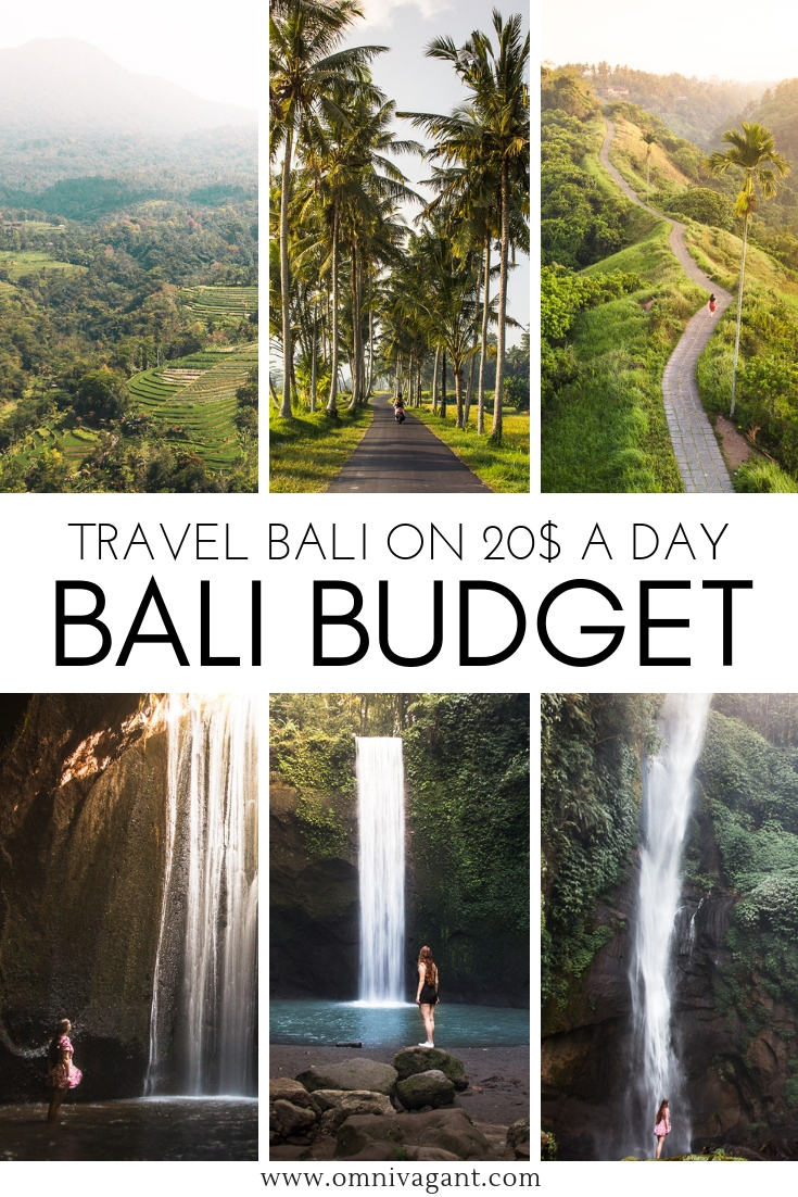 Bali Travel Budget - Travel Bali on 20$ a day! #Bali #Indonesia