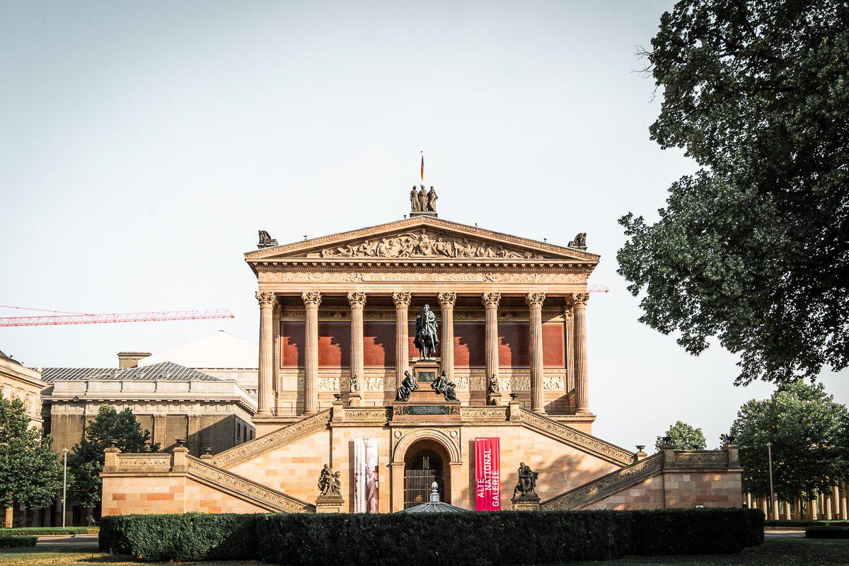 The Alte Nationalgalerie in Berlin