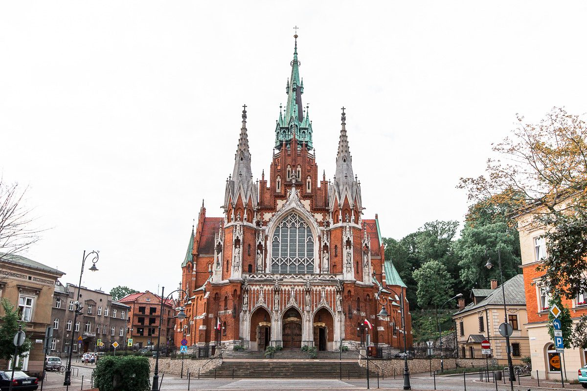 The St. Joseph Church in Krakow