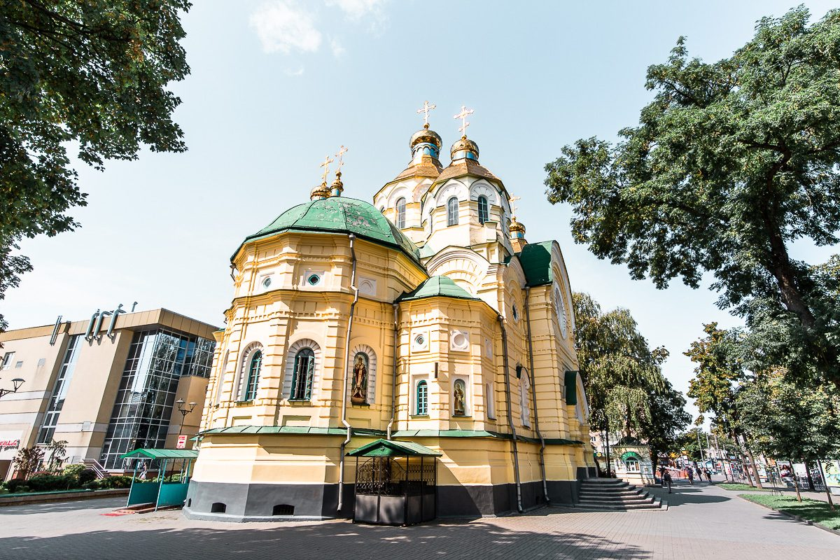 The Holy Resurrection Cathedral in Rivne