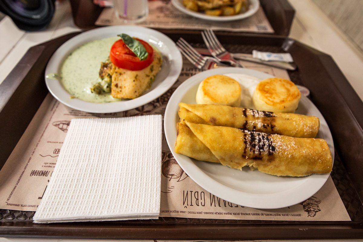 Puzata Hata Lunch Kiev