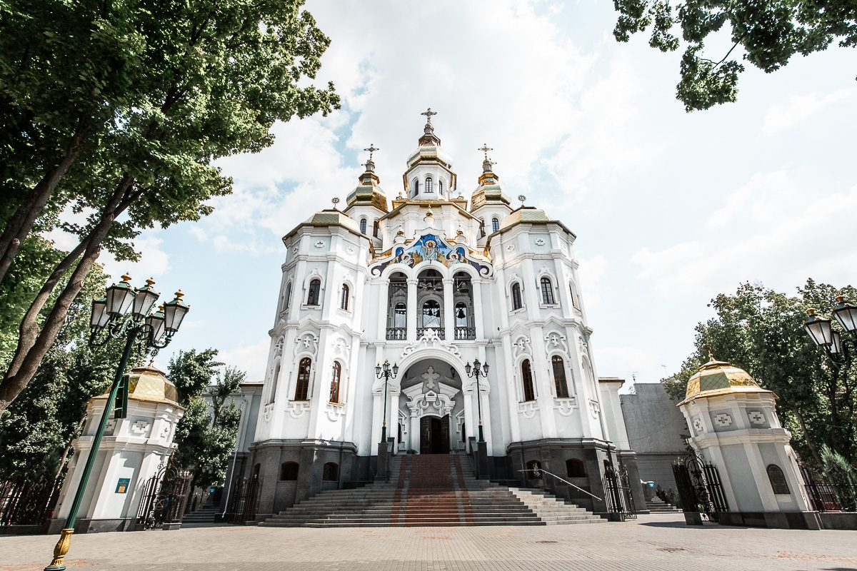 The church of the holy myrrh-bearers in Kharkiv