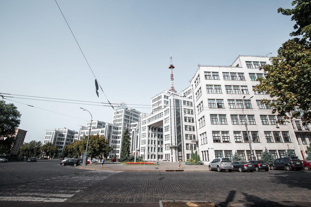 Derzhprom in Kharkiv - Soviet architecture in Kharkiv
