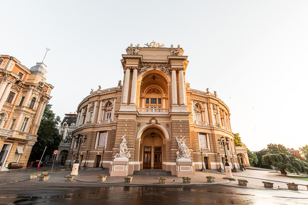 The Odessa National Academic Theatre of Opera and Ballet