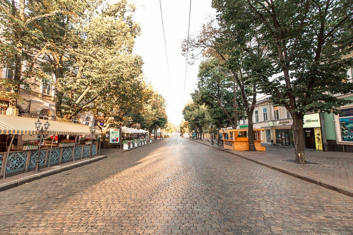 Deribasovskaya Street Odessa