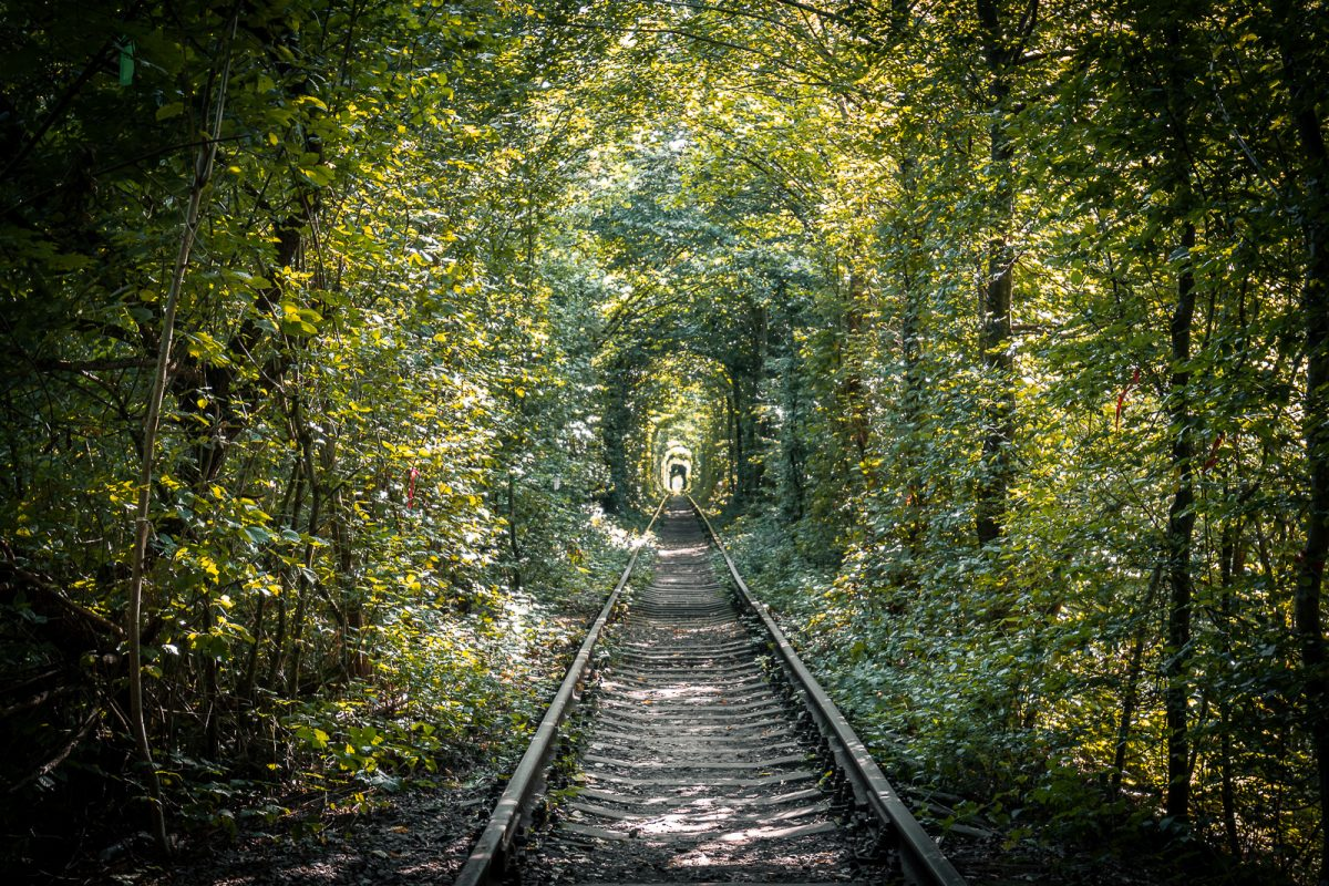 tunnel of love rivne ukraine