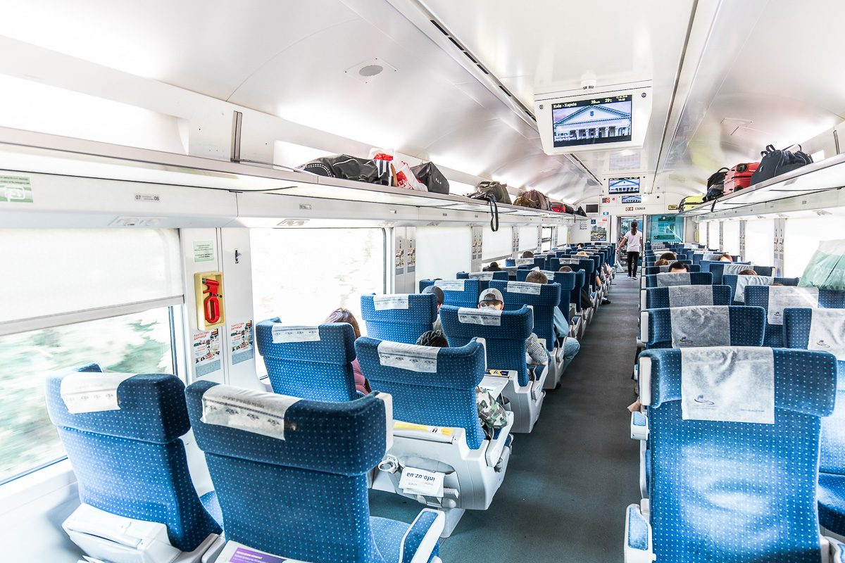 first class seater intercity plus ukraine