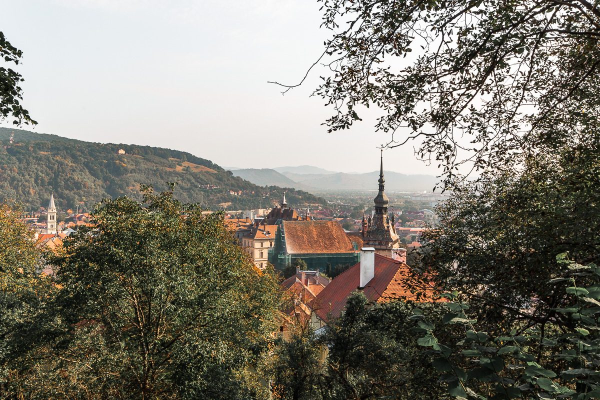 View from the Church on the Hill in Sighisoara