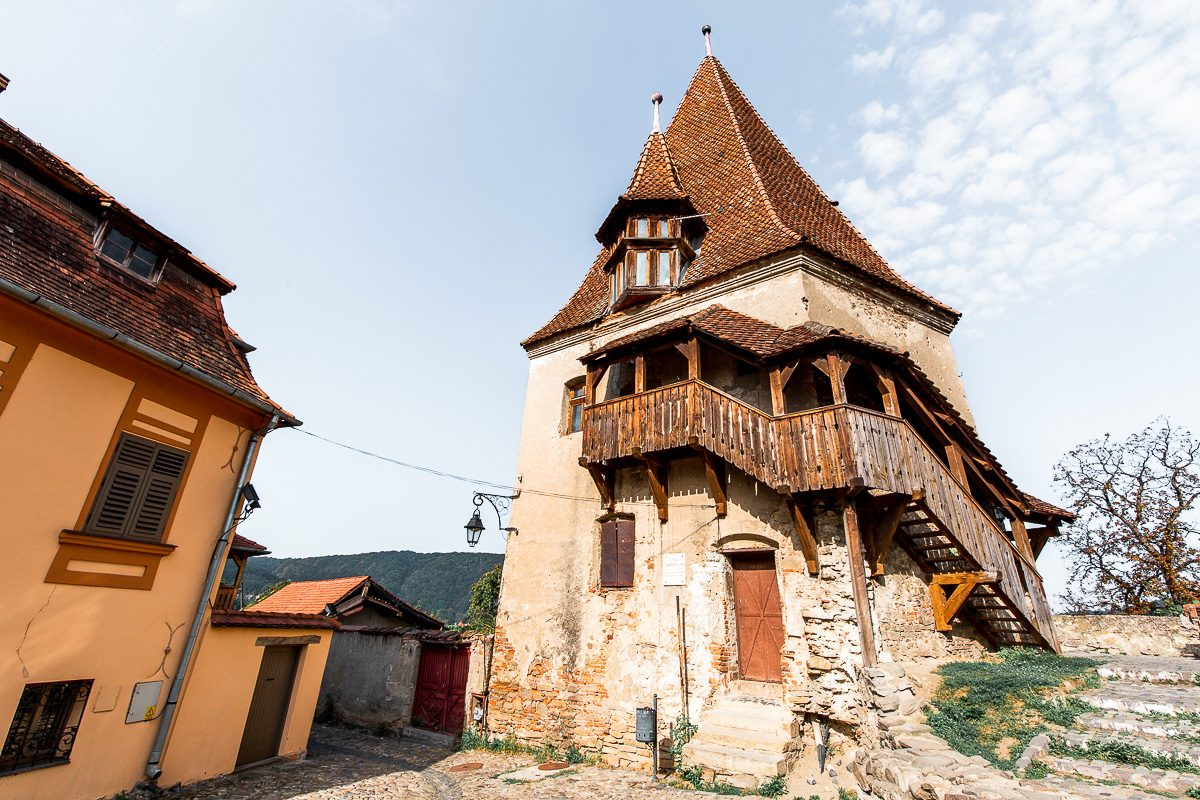 Sighisoara Guild Towers - one of the many things to do in Sighisoara